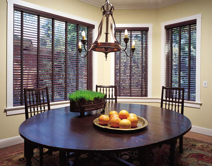 Blinds by design faux wood window treatment idea gallery for Interior designs holmen wi