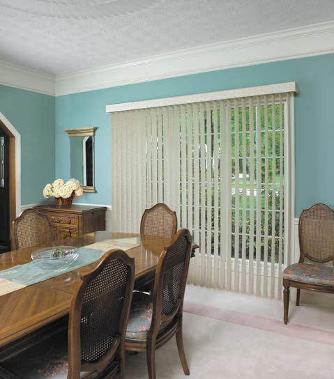 Blinds by design vertical blinds window treatment idea for Interior designs holmen wi