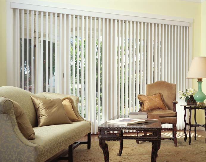 Blinds By Design Vertical Blinds Window Treatment Idea