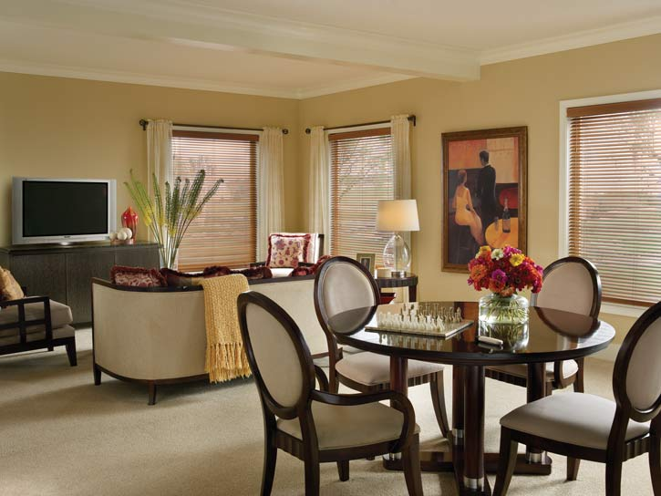 Blinds By Design Wood Blinds Window Treatment Idea Gallery