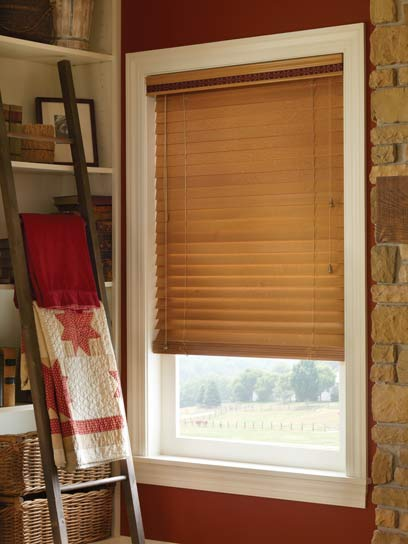 Blinds by design wood blinds window treatment idea gallery for Interior designs holmen wi