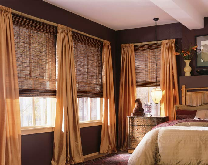 Blinds By Design Woven Wood Window Treatment Idea Gallery